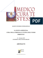 MedicoCura Te Stesso Abstract