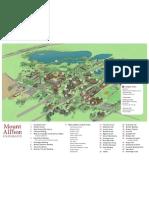 Mount Allison University Campus Map