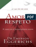 Amor y Respeto Emerson Eggerichs