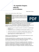 Aprendizaje de segundas lenguas.doc