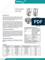 Upright Pendant and Recessed Pendant Sprinklers