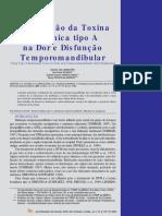 A Utilização da TB A na dor e disfunção temporomandibular.pdf