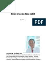 Reanimación Neonatal - Parte C