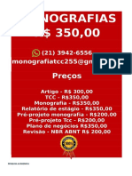 é Por 350,00 Por Tcc Ou Monografia Whatsapp (21) 3942-6556 Tccmonos@Gmail.com(13)--Compressed