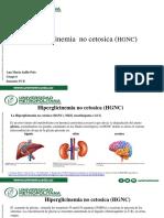 Hiperglicinemia No Cetósica