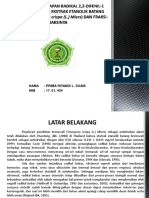 Aktivitas Penangkapan Radikal 2,2-Difenil-1 Pikrilhidrazil Oleh Ekstrak Etanolik