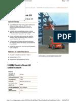 Especificaciones E450AJ