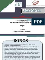 Bonos y Acciones Aracelly