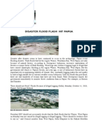 Disaster Flood Flash Hit Papua