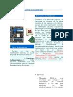 Clasificación y Tipos de Hardware