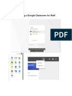 creating a google classroom handout