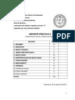 Determinación directa e indirecta de cloruros