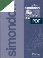 Simondon Gilbert - Imaginacion_e_Invencion.pdf