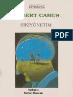 Albert Camus - Sıkı Yönetim