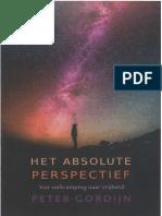 Peter Gordijn - Het Absolute Perspectief