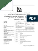 Guias y Recomendaciones Para El Dx y Manejo de La DM
