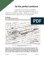 writetheperfectsentence