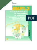 MMPI2 ficha técnica