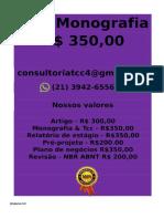 é Feito Por 350,00 Por Tcc Ou Monografia Whatsapp (21) 3942-6556 Monografiatcc174@Gmail.com(23)--Compressed