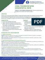 Actualización Convocatoria2018 Estancias TecMTY