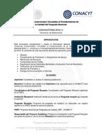 Terminos de Referencia Estancias Posdoctorales 2018