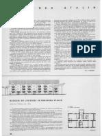 Arhitectura R.P.R. Nr. 3 Pe 1960 (Mai - Iunie) (Anul VIII, Nr. 64) Pg. 44-47 Regiunea Stalin (Brasov)