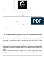 Roteiro de Aula - Aula 06 - Fundação Privada e Teoria Geral Dos Bens Juridicos