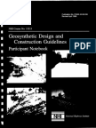 Geosynthetic Design and Construction Guideline - FHWA 098-038