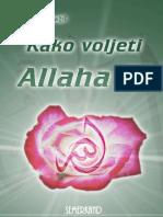 20109372 Kako Voljeti Allaha Dr Ahmed Cagil