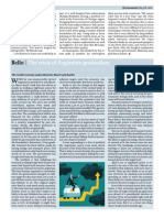 Bello the Crisis of Argentine