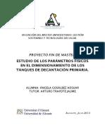 Proyecto de Decantacion Primaria