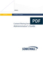 SonicWALL CFS Premium Administrators Guide