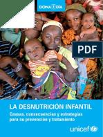 Desnutricion Unicef