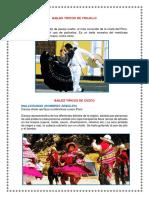 Bailes Tipicos de Trujillo