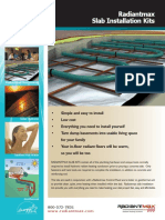 Slab_Packages Radiant Heat