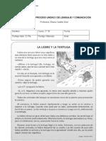 Evaluacion de proceso unidad 3 agosto lenguaje.doc