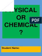 physical or chemical booklet