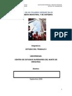 ESTUDIO DEL TRABAJO II (IIS 7°)