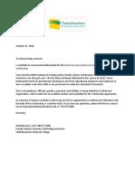 aisha harris  - recommendation letter -scholarship