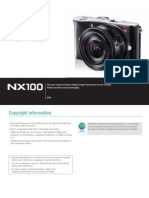 Samsung Camera NX100 User Manual