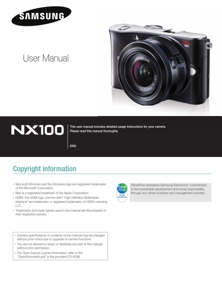 samsung camera nx100 user manual shutter speed camera lens rh scribd com samsung ois duo camcorder manual samsung ois duo camcorder manual