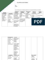 Planificacion Diaria 6to a y B