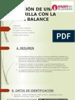 MEDICIÓN DE UNA CUADRILLA CON LA CARTA BALANCE.pptx