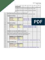 Total Formulas of Excel