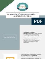 La Evaluación de desempeño y la gestión de.pptx