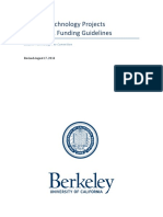 FINAL Technology Projects and Initiatives Funding Guidelines and Proposal Guide
