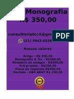 E R$ 350,00 PARA  Monografia e Tcc  WHATSAPP (21) 3942-6556- tccmonografia247@gmail.com(33) -compressed