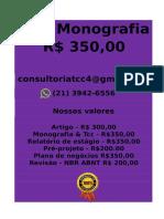 E R$ 350,00 PARA  Monografia e Tcc  WHATSAPP (21) 3942-6556- tccmonografia247@gmail.com(32) -compressed