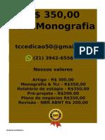 E R$ 350,00 PARA  Monografia e Tcc  WHATSAPP (21) 3942-6556- tccmonografia247@gmail.com(24) -compressed