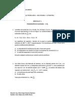 PRACTICA N° 1     TRANSMISION DE CALOR.